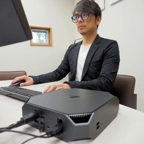 日本HPが発売した世界初のミニワークステーション「HP Z2 Mini G3」でBIMソフトを活用する横松建築設計事務所 専務取締役の横松邦明氏