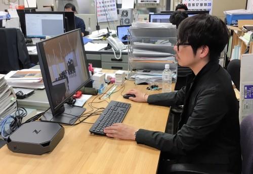 BIMソフトを駆使する横松建築設計事務所のオフィス。ワークステーションはすべて日本HP製のものを使用している