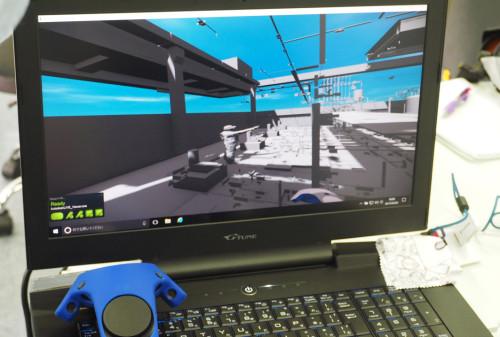 3DスキャンデータをもとにしたVRによるプレゼンテーションも実現