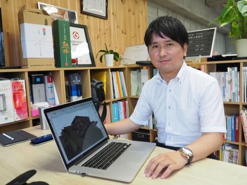 事務所開設当初から2次元CADは使わず、BIMソフト「ARCHICAD」を一貫して使用するixrea代表の吉田浩司氏