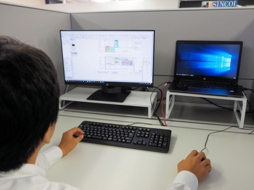 高性能ワークステーションZ440を自席のノートパソコンから遠隔操作で活用する塚本氏