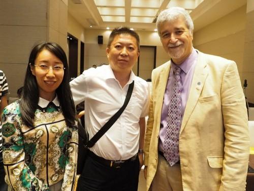 2017年6月29日、上海で開催されたフォーラムエイトのセミナーでは、開発者のガリア教授にも直接、質問した