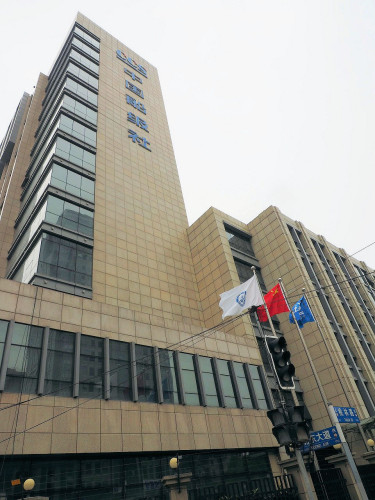 上海市内にある中国船級社のビル