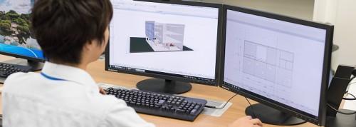 ARCHICADで施工BIMを実践するイチケンの技術者