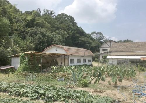 宇治市にある祖父母の養鶏場跡地を地域のイベントスペースとして活用することを計画した