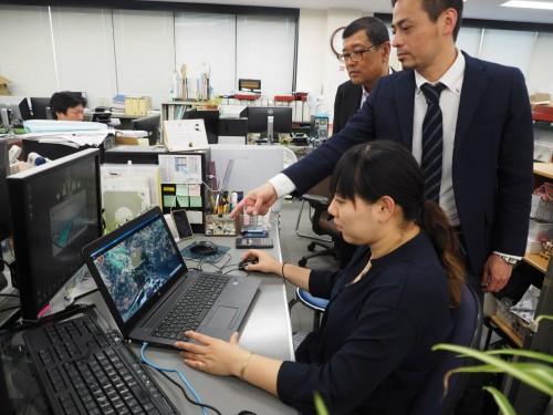 エイト日本技術開発のCIM活用をサポートするCIM推進室