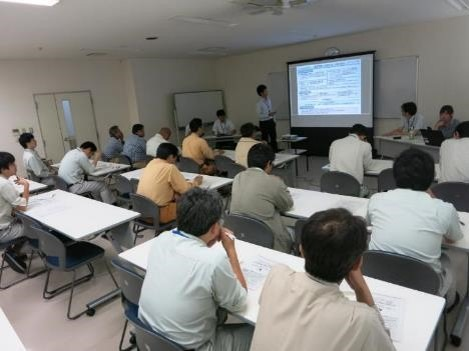 NEXCO中日本社内で行われたCIM研修会