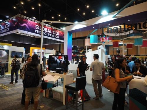 タイ・バンコクで開催された「SIGGRAPH ASIA 2017」の展示会場