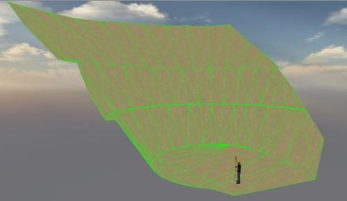 斜面造成のために作った3Dモデル