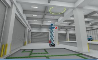 BIMモデルをもとに作成した安全教育用VRコンテンツ