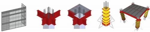 BIMモデルによるデジタル・モックアップの例。大規模な部材も詳細に再現できる