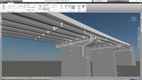 Click3Dで作成された橋梁のCIMモデル