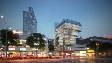 建築物や都市景観を詳細にフォトリアルで視覚化する「RTXシリーズ」によるリアルタイムリングの例