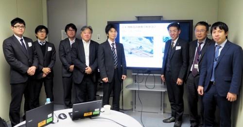 プロジェクトにかかわったNECと鹿島の技術者たち