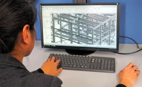オートデスクの「Revit」を使った構造設計業務