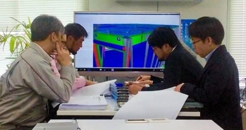 3Dモデルによる整合性確認と合意