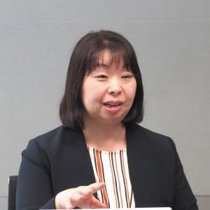 竹中工務店 グループICT推進室 システム企画・整備1グループ 主任 井上 須美子氏
