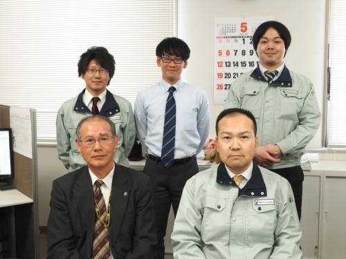 岩田地崎建設ICT推進部のスタッフ