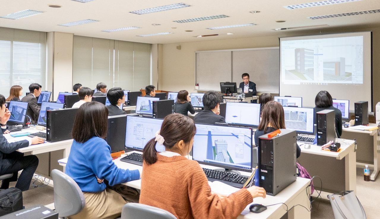 営繕職員を対象に九州技術事務所で開催されたBIM研修