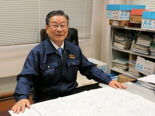 RevitのBIMパーツによる規格品使用のメリットについて語るフカガワエーシーエス代表取締役の大谷照雄氏