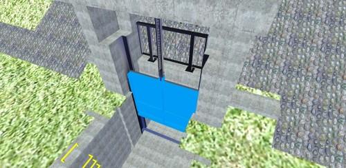 図面だとわかりにくい樋門や地下構造物をCIMモデル化した例